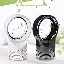 JTYR Bladeless Fan Table Fan Mini Electric Desk Fan Quiet Cooling Fan Portable Lightweight Durable Air Multiplier Mute Fan for Home Bedroom Baby-Room Office