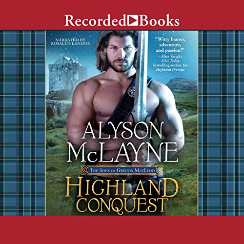 Highland Conquest audiobook cover art