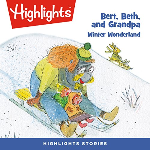 Bert, Beth, and Grandpa: Winter Wonderland copertina