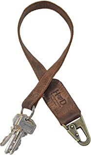 Best long leather keychain Reviews