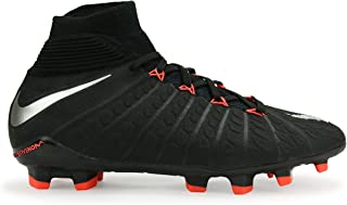 Nike Kids Hypervenom Phantom Iii Dynamic Fit Fg Black/Metalic Silver/Anthracite Soccer Shoes