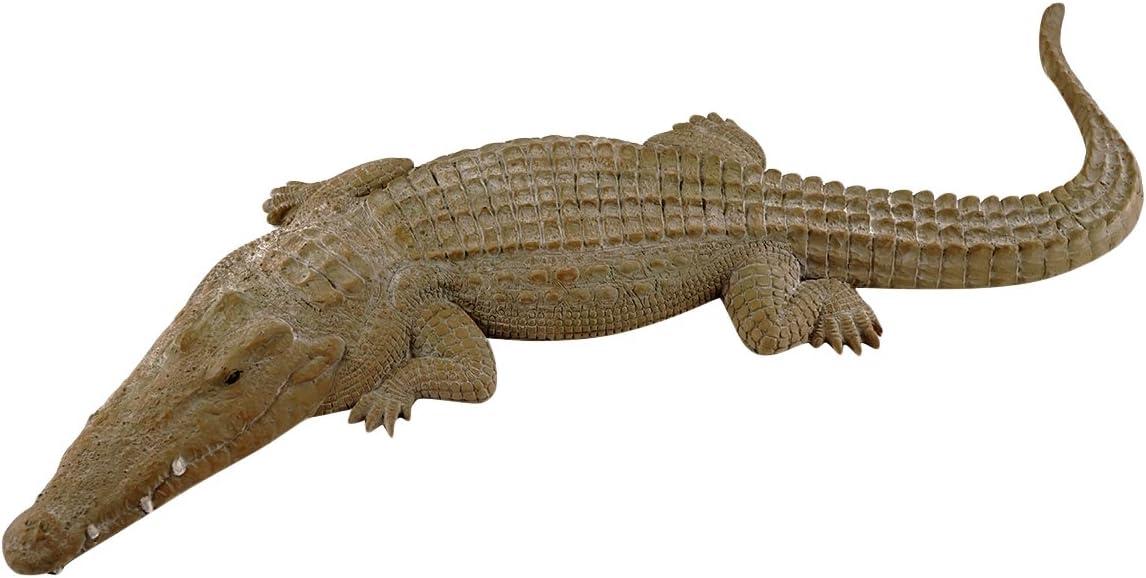 Top Max 62% OFF Collection 2 ft Long Garden Sculpture Crocodile Gator Very popular
