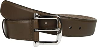 8a0872cb904 Gucci Women s Silver Buckle Brown Leather Belt 281548 2527 ...
