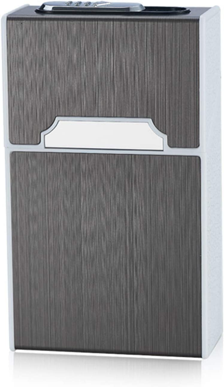 GYGY 5 popular Cigarette Sale Case Metal Brushed Aluminum Alloy
