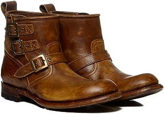 Sendra Boots 11296 LIGTHING Deep LAV.Wax Botin Motero DE Hebillas