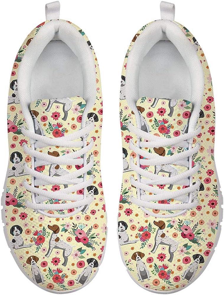 Coloranimal Lightweigh Mesh Running Shoes Casual Flat Walking Sneakers US5-12