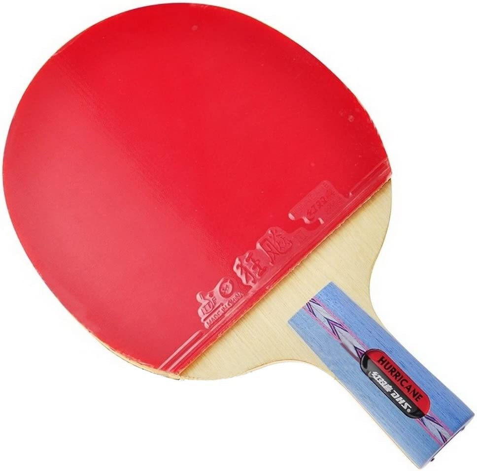 DHS HURRICANE-I Tournament Attention brand Table sale Tennis Ping Set Pa Pong Racket