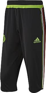 Mexico 2016 3/4 Training Black/SeSoGreen Pants