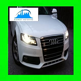 312 Motoring fits 2009-2012 AUDI A4 A5 CHROME TRIM FOR GRILL GRILLE 2010 2011 09 10 11 12
