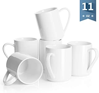 Sweese 603.001 Porcelain Coffee Mug Set – 11 Ounce for Coffee, Tea, Cocoa and..