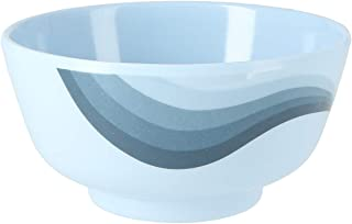 """Royalford 4.5"""" Melamine Ware Super Rays Round Bowl - Portable, Lightweight Bowl Breakfast Cereal Dessert Serving Bowl 