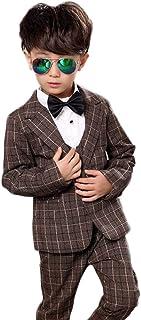 topmodelss フォーマルスーツ 子供服 キッズ スーツ ジャケット ベストズボン 3点セット 卒業式 入学式 結婚式 発表会