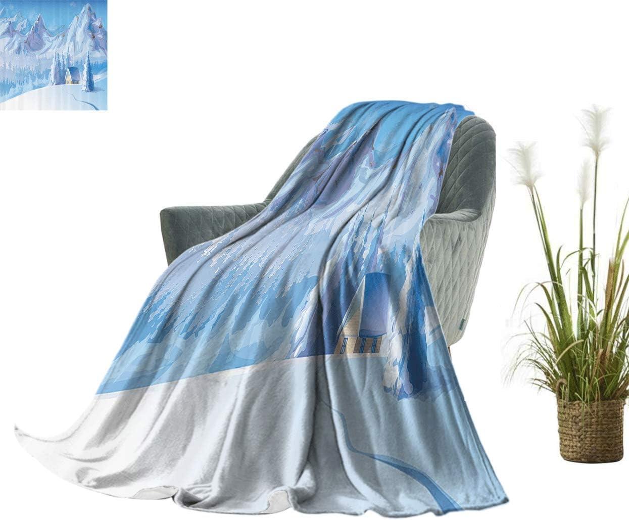 Coloufules Winter Decor Light Blanket Max 62% OFF Brand new Below House Majesti Little