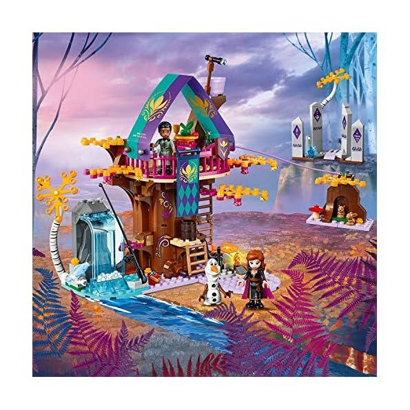 LEGO-Frozen-La-Casa-sullalbero-Incantata-41164-Set-di-Costruzioni-per-Ricostruire-la-Magica-Atmosfera-di-Frozen-e-Partire-per-unAvventura-nella-Foresta-Incantata-per-Bambini-6-Anni