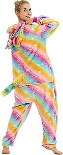 Unisex Adult Unicorn Onesie Pajamas One Piece Onsie Pijama Animal Costume