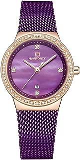 Watch Women Watches Fashion Diamond Dial Wristwatch Analog Quartz Watch Ladies Dress Watches with Stainless Steel Band