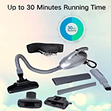 Ozoy Vacuum Cleaner for Home and Car 1000 watts Operating Voltage: 220-240 Volts Multi-Functional Portable Handheld Car Electric Vacuum Sucking, Dust Cleaning (.Silver)