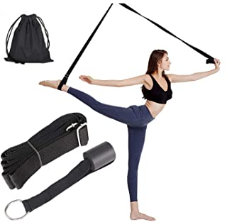 Sinrextraonry Stretching Leg Strap Door Flexibility, Adjustable Leg Stretcher Lengthen Ballet Stretch Band, Door Anchor, G...