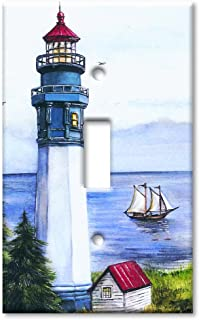 Art Plates - Lighthouse Switch Plate - Single Toggle
