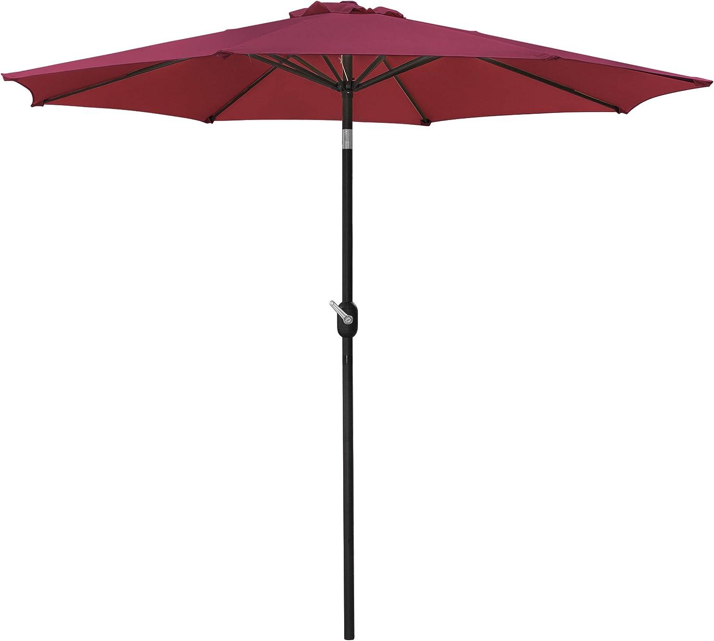 ZENY Very popular! Patio Umbrella 9ft Outdoor Market Bargain sale Table Sunshade w
