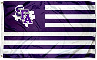 Stephen F. Austin Lumberjacks Stars and Stripes Nation Flag
