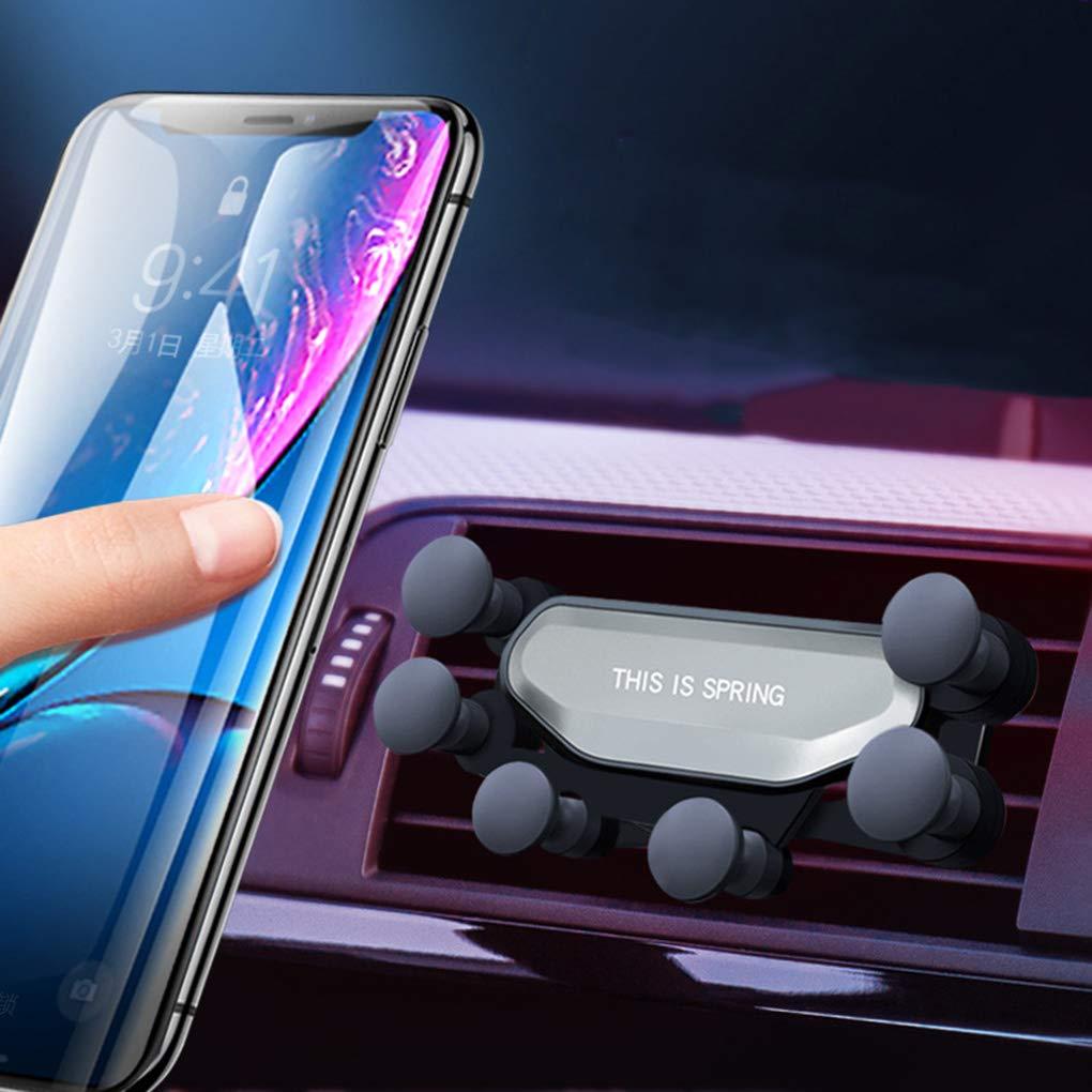 Zerama Gravity Car Phone Holder Car Air Vent Mount Bracket Mobile ...