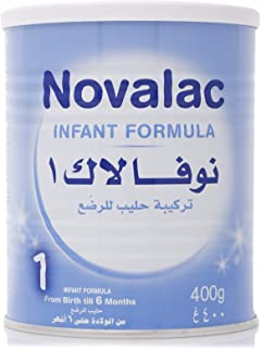 Novolac N1 Infant Formula, From Birth To 6 Months, 400 gm