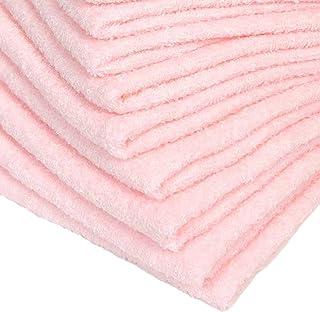 フェイスタオル 泉州製 180匁 平地付 桜色 120枚セット 全7種 日本製 約34cm×84cm 綿100% 無地 国産 コットン 急がない場合