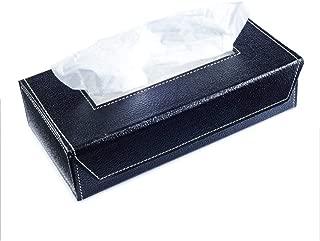 Kingsway kkmtsbxambk00001 Tissue Papper Napkin Holder Box for Cars, Offices and Homes (Black)