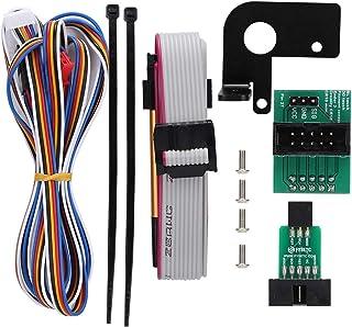 BYARSS Placa de extensión, Accesorios de Impresora 3D BL-Touch para Creality CR-10/Ender-3 Placa de Placa adaptadora con S...