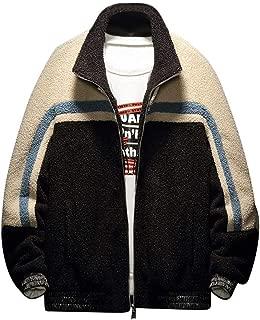 wuliLINL Men's Pullover Winter Workout Fleece Hoodie Jackets Full Zip Wool Warm Thick Coats