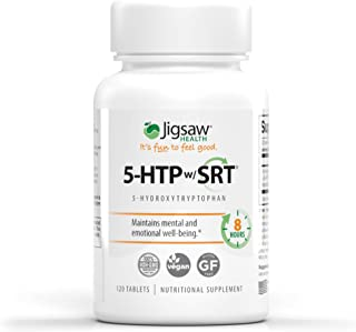 Jigsaw Health - 5-HTP Slow Release - Helps Improve Mood, Emotional Balance, and Sleep Quality utilizing only The purest Fo...