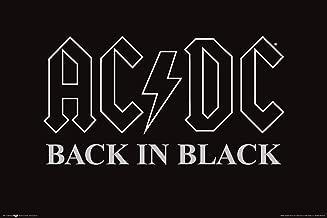 NMR/Aquarius AC/DC Back in Black Poster