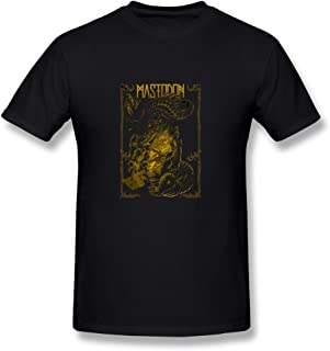 WunoD Men's Mastodon Band T-shirt