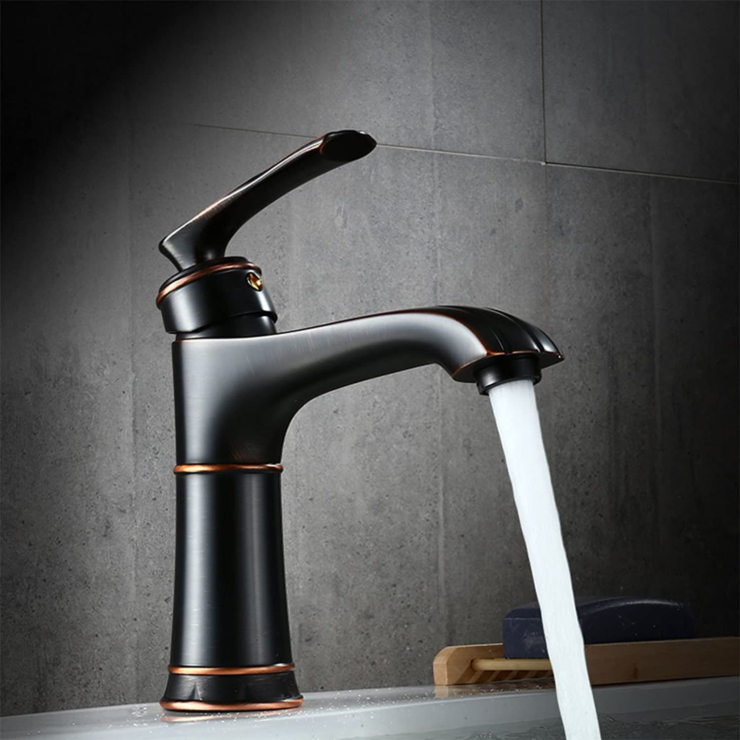Antique European Creative Basin Mixer Retro High-end Fashion Hot And Cold Faucet