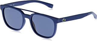 Lacoste Rectangular Sport Inspired Matte Sunglasses