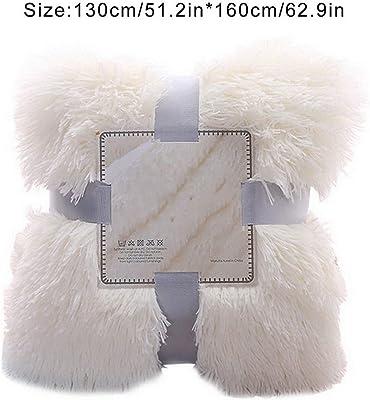 Amazon.com: Chic Home Elana cobija de piel sintética ...