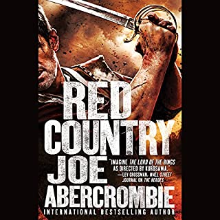 Red Country                   Written by:                                                                                                                                 Joe Abercrombie                               Narrated by:                                                                                                                                 Steven Pacey                      Length: 19 hrs and 52 mins     54 ratings     Overall 4.9