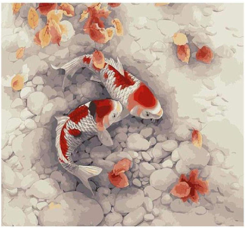 NDSLJSLYH Pittura Digitale autopa 80X100Cm DIY Ad Olio Tela Kits su Tela Parete Arte per La Casa Soggiorno Ufficio Immagine Arrossoamento