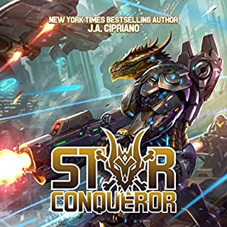 Star Conqueror audiobook cover art