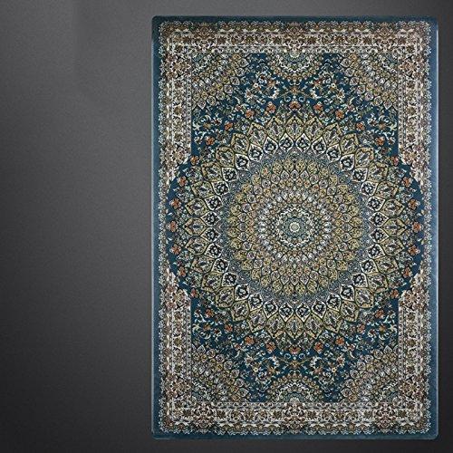 BAGEHUA maßgeschneiderte Kunst türkische Wohnzimmer blau Iranische Teppich Neue Amerikanische Französisch, 1.6Mx2.3M, Mz 8819 Bs