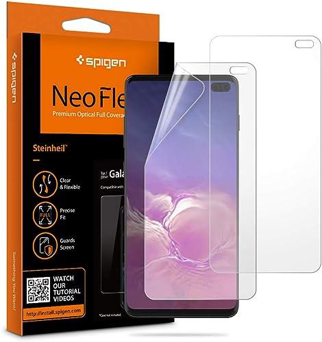 2 X Películas Protetoras Spigen Neo Flex para Galaxy S10+ Plus