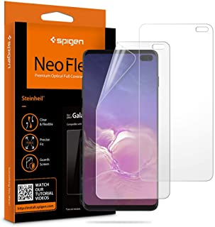 Spigen Protector de Pantalla para Galaxy S10 Plus, NeoFlex Screen Protector [TPU Film] Designed for Samsung Galaxy S10 Plus (2019) [2 Pack]