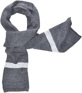 Gamboa - 100% Alpaca Scarf - Unisex Alpaca Scarf - Grey with Stripes - Incredibly Warm and Soft