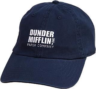 Ripple Junction The Office Dunder Mifflin Logo Dad Hat (Navy)