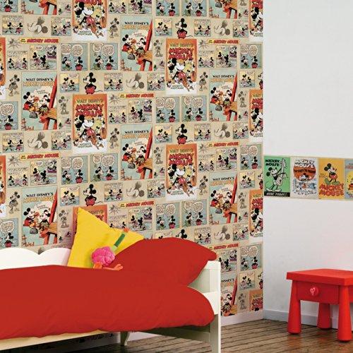 "Graham & Brown 70-242 - Carta da parati, tema: fumetti vintage""Topolino"" Disney"
