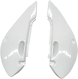 UFO KA03734-047 Replacement Plastic (for Kawasaki SD PNLS KAWITH/SUZ White)