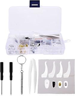 Brillen Neus Pads Reparatie Tool: Antislip Neus Siliconen Neus Pads Brillen End Tips Bril Eyewear Reparatie Accessoires