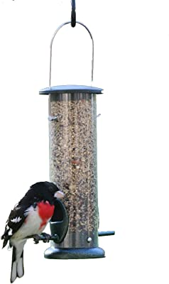 Birds Choice 2 Cup, 2 Port Tube Feeder