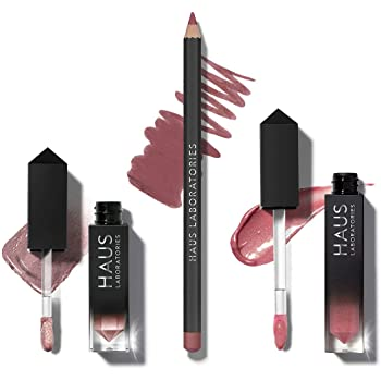 Haus Laboratories Haus of Collections, 3 piezas: All-Over Color, Lip Gloss, Lip Liner- Haus of Angel Baby